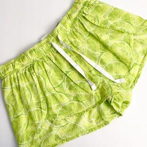 Victoria Secrets Limes Shorts Drawstring XS